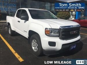 2016 GMC Canyon 2WD - LOW KMS, REAR VISION CAMERA, 4.2 INCH COLO
