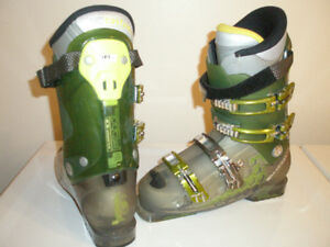 Downhill Ski Boots Salomon 1080, mondo 27, men 9, Ladies 10