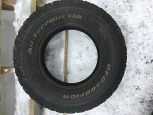 BF Goodrich All-Terrain Tires