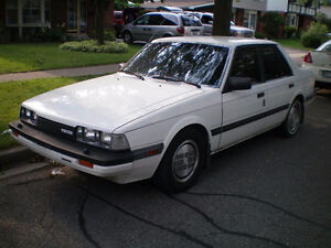 For sale or trade 1984 Mazda 626 LX