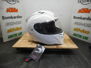 CASQUE MOTO BELL BLANC LARGE NEUF MODULAIRE