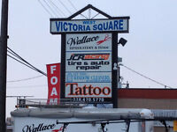 West Victoria St. Retail/wholesale/office space Busy strip mall