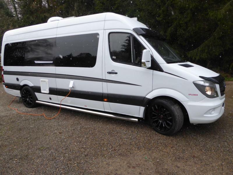 Mercedes benz sprinter 2 berth camper van for sale ref for Mercedes benz camper vans for sale