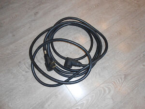 30 AMP extension cord for your RV. 25' length