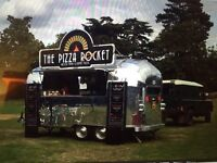 Airstream Style Mobile Pizza Trailer