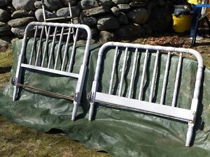 Antique Cast Iron Bed Frame Kawartha Lakes Peterborough Area image 1