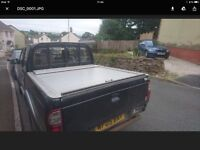 Ford Ranger Double Cab Pick Up Locking Roller Cab Back Cover