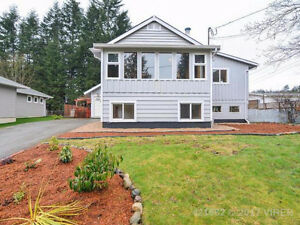 West Coast home in quiet, rural setting close to CFB Comox
