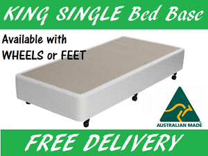 KING SINGLE Size Ensemble Bed Base Australian Made Delivered FREE New Farm Brisbane North East Preview