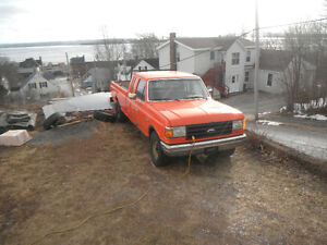 1988 ford 7.3 diesel extended cab long box 3:56 rear