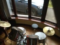 Session Pro 7 Piece Drum Kit with stool