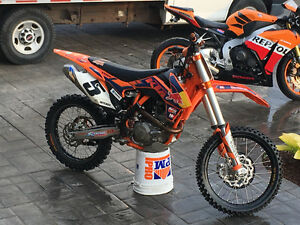 KTM 450 édition red bull comme neuf