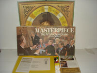 Masterpiece Parker Brothers Vintage Art Auction Board Game 1970