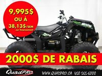 2015 Arctic Cat XR 550 LIMITED EPS 38,14$/SEMAINE - 200