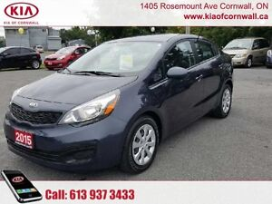 2015 Kia Rio LX+ AT  | Blowout Price | Local Trade |