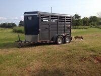 Ranch King Horse / Stock Trailer