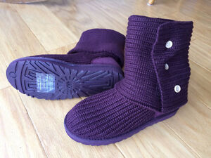 """UGG """"Classic Cardy"""" Boot (purple) - new / never used - only $65"""