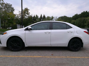 2015 Toyota Corolla S (Accident Free) + 4 winter tires on rims
