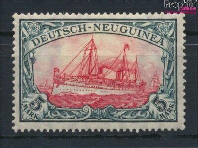 Deutsch-Neuguinea 23I A I Mittelstück I mit Falz 1914 Schiff Kaiserya (9120040