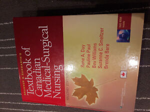 TEXTBOOK OF CANADIAN MEDICAL-SURGICAL NURSING 2ND EDITION