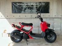 2007 JDM Honda Zoomer fire engine red