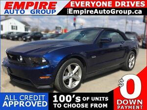 2012 FORD MUSTANG GT * V8 * CONVERTIBLE * LEATHER * POWER GROUP