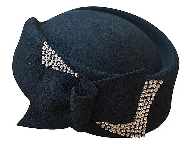 Teardrop-Shaped Hat