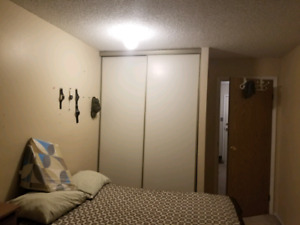 Downtown 1 BD in 2BD apt. 14ave 8st SW