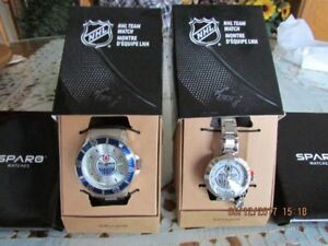 New never been worn,his and hers Oilers watches