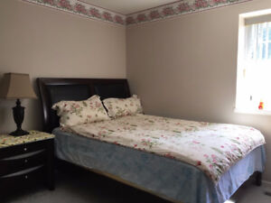 furnished one-bedroom suite for rent