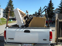 Junk Removal and Hauling.