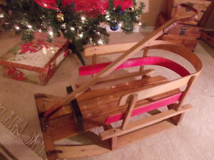 Kids childs toddlers sleigh sled