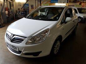 2007 07 Vauxhall Corsa 1.3 CDTI Van 16v White EX BT *NO VAT*