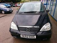 Mercedes-Benz A140 1.4 ( SWB ) A+ 2002 52-REG - 6 MONTHS MOT