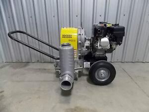 "2015 Wacker PDT3A 3"" Diaphragm Pump"