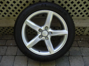 "Mag et Pneus D'hiver 17"" Mags and Winter Tires"