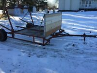 Horse or Tractor Round Bale Sleigh