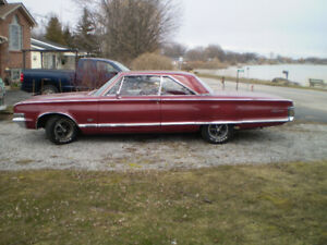 1965 CHRYSLER 300 MINT CONDITION! CAR IS IN SELKIRK ONT.