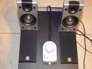 Logitech Z-2300 Computer Desktop Speakers with Sub
