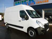 2014 Vauxhall MOVANO F3500 L2H3 CDTI MWB HR Van Manual Large Van
