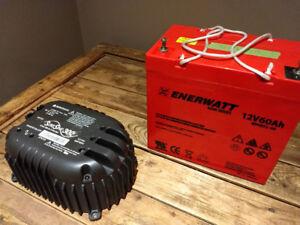 Batterie marine et onduleur