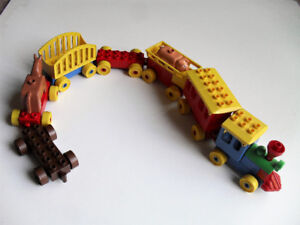 Fun Lot of Lego Duplo Train And Animals (Lot 1)