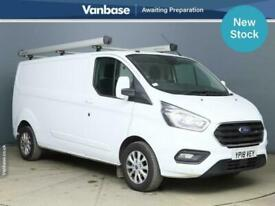 2018 Ford Transit Custom 2.0 EcoBlue 130ps Limited Short Wheelbase L2H1 Low Roof
