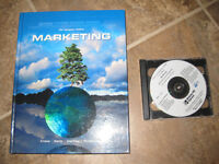 Marketing Textbook with cd $20