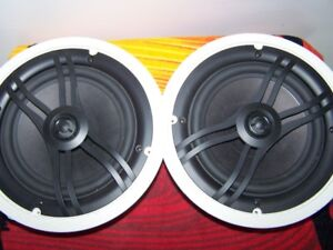 Pair of Yamaha NSIW360C 2-Way In-Ceiling Speaker System