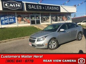 2015 Chevrolet Cruze LT w/1LT   CAMERA, CLIMATE CTRL, POWER GRP!
