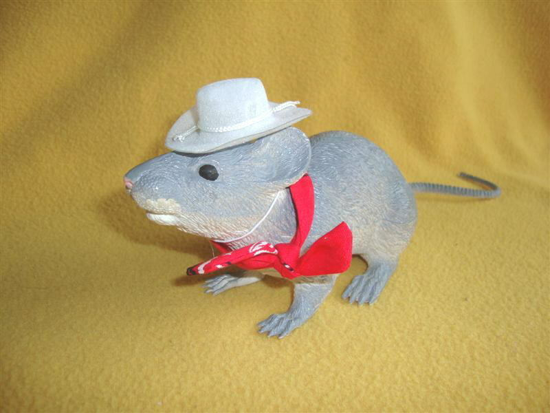 Cowboy Costume for Rat from Petrats