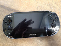 PS Vita/Case/Charger/4 GB card/2 games