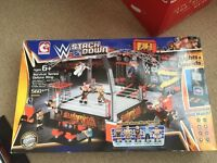 WWE stack down Lego