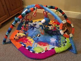 Baby gym lights and sounds £10